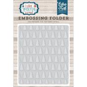 Echo Park Paper Company ILW115031 Embossing Folder-Pine Tree