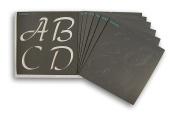 Waverly Inspirations Laser Cut Alpha Basic Script Alphabet Stencils - 15cm x 15cm