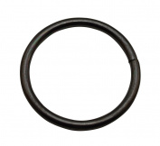 Tianbang Gun Black 5.1cm Inner Diameter O Ring Non Welded Pack of 5