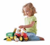 Fisher Price Little People Tow N Pull Tractor - Lil Movers Cbh84 New