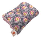 Pello Comfy Cradle - Slip-on Arm Pillow for Baby Nursing - Reversible, Adjustable, Washable, Durable, Kendal/Light Pink