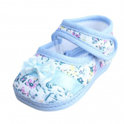 CocoMarket Baby Girl Soft Sole Bowknot Print Anti-slip Casual Shoes Toddler