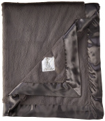 Little Giraffe Luxe Baby Blanket, Charcoal
