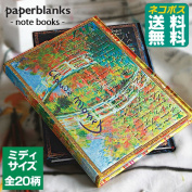 PAPERBLANKS Notebooks [cat POS in paperblanks / MIDI / notebook / diary / stationery / diary / borders / bookmarks / cover / fancy/cute / design / . / Pocket / magnet / books / antique/leather/macron/Aloha