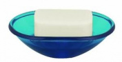 Spirella Toronto Polystyrol Soap Dish, Acqua