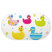 New Kids Quackers Duck Design Childrens Shower Curtain Non Slip Bath Mat