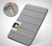 Bath Mat Anti Bacterial Non Slip Bathroom Carpet Soft Memory Foam Shower Rug