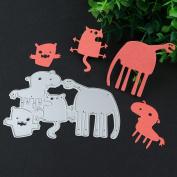 Fabal Metal Cutting Dies Stencil Scrapbook Paper Card Craft Embossing DIY Album Decoration