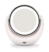 Rio Illuminated 1 & 5x Magnifying Cosmetic Make Up & Vanity Mirror
