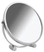 Blue Canyon Stainless Steel Swivel Shaving/ Make Up Mirror - White