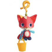 Tiny Love Christopher The Fox Jitter Teether Toy, Meadow Days