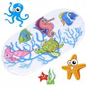 Anlass Kids Cartoon Non Slip Mats Mildew Resistant Non Slip Mats For Children