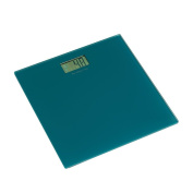 Bonsoni Turquoise Tempered Glass Bathroom Scale By Protege Homeware