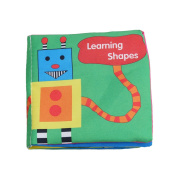 VWH Baby Fabric Activity Cloth Book Early Education Development Toys