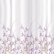 Tatkraft Immanuel Olive Shower Curtain 180x180cm Waterproof Textile Polyester 12