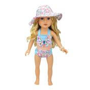 46cm American Girl Doll Clothes-Swimsuit Set