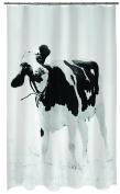 Spirella Teenie 10.17895 Textile Shower Curtain 180 X 200 Cm Black