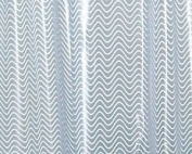 Gedy Extra Long Translucent Shower Curtain 180x200cm & Rings