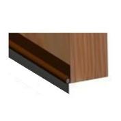Door Bottom Brown Seal Rubber Strip Draught Excluder Stop Strip Sweep PVC