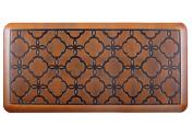 Urvigor Anti Fatigue Comfort Mats Kitchen Floor Mats Standing Mat for Standup Desks, Kitchens, and Garages , Antique Light Flower Pattern