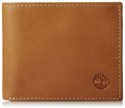 NEW Genuine TIMBERLAND Mens Leather Passcase Bifold Wallet (With Gift Box) - D01387