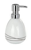 "Wenko ""noa"" Soap Dispenser, White/silver"