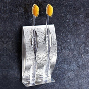 Stainless Steel Toothbrush Razor Holder - Couple Toothbrush Holder With Wall