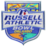 2016 Russell Athletic Bowl Game Jersey Patch West Virginia Vs Miami Hurricanes