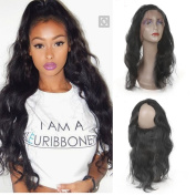 UR Meili Body Wave 360 Lace Frontal Pre Plucked Brazilian Remy Hair 100% Human Hair Closure With Baby Hair Bleached Knots 30cm