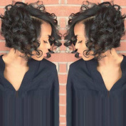 Short Pixie Cut Wigs for Black Women Female Heat Resistant Synthetic Wigs Women Perruque Short Curly Hair