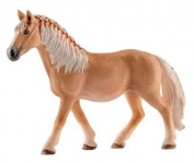 Schleich Haflinger Mare, Life Like Toy Model Horse Animal Figure