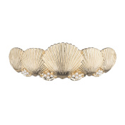 Kitsch Seashell Bun Pin, Silver