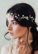 Missgrace Crystal Bridal Wedding Headband Hair Accessories-Women Party Hair Accessories