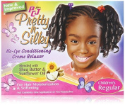 Lustre PCJ Pretty N Silky No Lye Conditioning Cream Relaxer Regular by Lusters