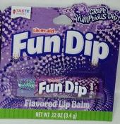 Lik-m-aid Fun Dip Flavoured Lip Balm - Grape YumPtious Dip .350ml