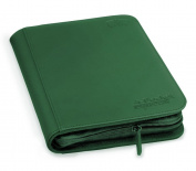 Ultimate Guard 4-pocket Xenoskin Zipfolio Green