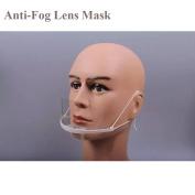 Microblading Mask Eyebrow Tattoo Plastic Crystal Anti-Fog Lens Mask Protective Medical Masks- QMYBrow