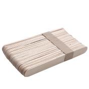 jinjiu 20PCS Wooden Body Hair Removal Sticks Wax Waxing Disposable Sticks