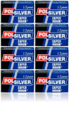 40 Polsilver Super Iridium Double Edge Safety Razor Blades