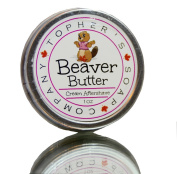 Beaver Butter - Topher's Beard Company - Soothing female shaving balm for rash and irritation reduction