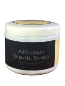 Nature by EJN African Black Soap - with Honey and Bee Propolis, Soft, Organic, Natural