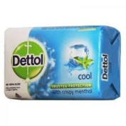 Dettol Cool Bar Soap for Healthy Skin Pack of 6