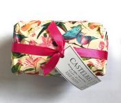 Castelbel Violet Blossom Fragranced Portugal Imported Bath Bar Soap 310ml Wrapped in Bird Decorative Paper