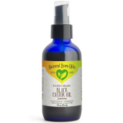 120ml Jamaican Black Castor Oil, 100% Pure and Natural, Organic, for Healthy Skin and Hair - Includes Pump & Dropper