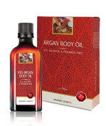 Argan Moroccan Body Oil Treatment Skin SLS, Alcohol & Paraben Free Cream Pure Argania Secret's 3.38 oz. 100 ml