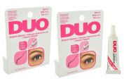 2 X DUO Eyelash Adhesive Dark Tone for Strip Lashes waterproof. : 5ml / 7 g