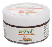 Greenviv Natural Handmade Oatmeal & Honey Floral Face Scrub - 50ml