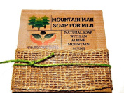 Mountain Man Soap For Men Comes In Gift Box Handmade With Natural Ingredients Like Coconut Oil
