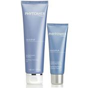 phytomer oligopur purifying cleansing gel 150ml & oligopur hydra matifying control cream 50ml