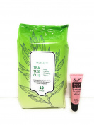"""TruBeauty Facial Wipes Normal to Dry Skin 6o Wipes """"Free Starry Lip 10ml"""""""